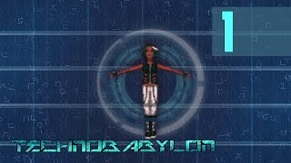 Technobabylon #1 - Prisoner of Consciousness [Walkthrough PC]