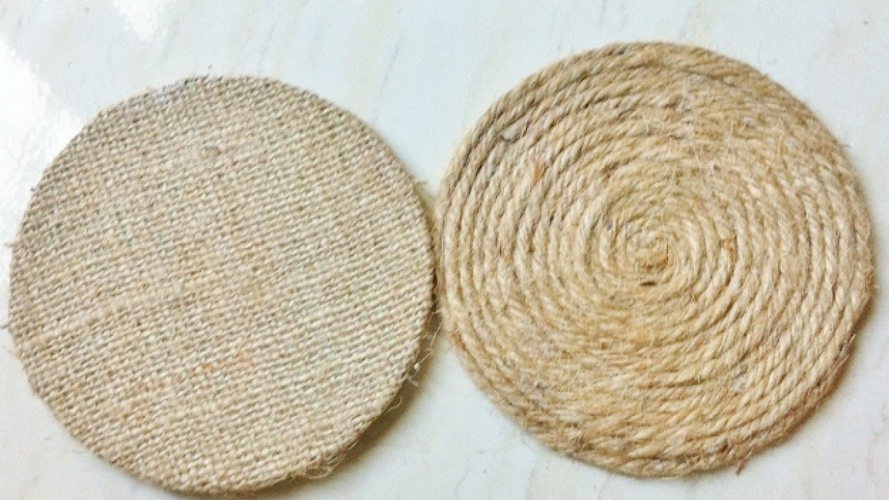 How To Create Easy Rope Coasters Diy Home Tutorial Guidecentral