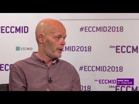 ECCMID 2018: Colin Hill keynote lecture about making sense of microbiome data