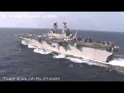 Top 10 Amphibious Assault Ships In The World 2015