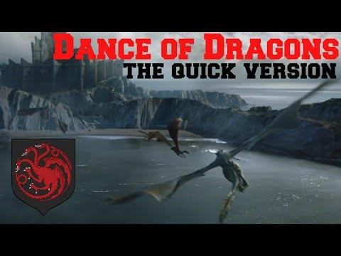 The Dance of Dragons in 5 Minutes  Game of thrones  Targaryen Civil War