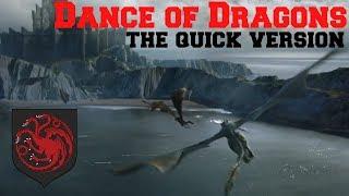 The Dance of Dragons in 5 Minutes | Game of thrones | Targaryen Civil War