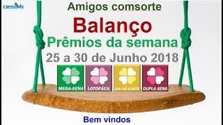 Mega sena lotofacil dupla sena dia de sorte  balanço de 25 a 30 de Junho