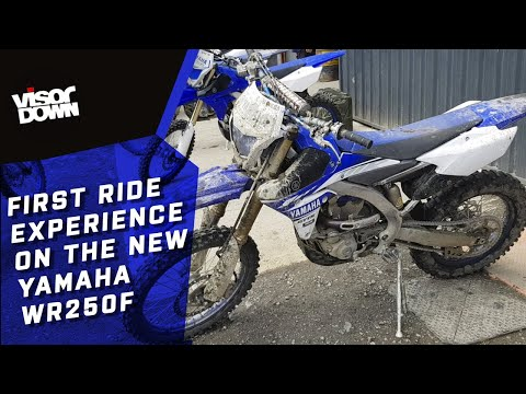 Yamaha WR250F 2019 First Ride