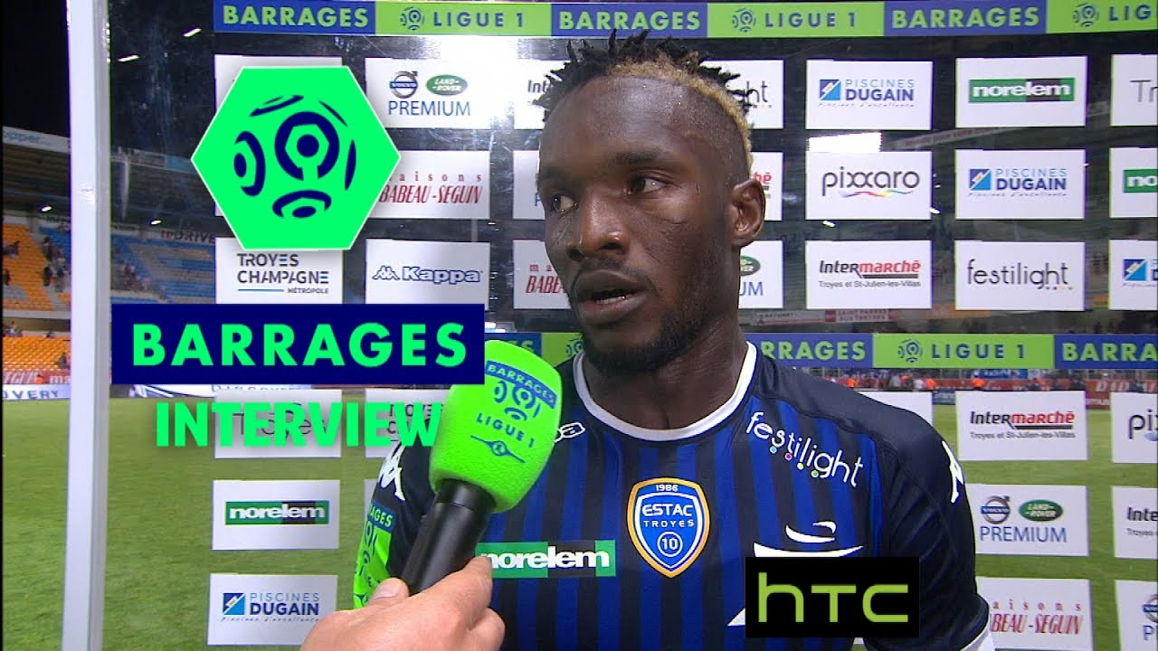 Interview de fin de match estac troyes fc lorient for Lorient troyes barrage