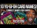 Top 10 FUNNIEST Yu-Gi-Oh Card Names!! [1080p HD]