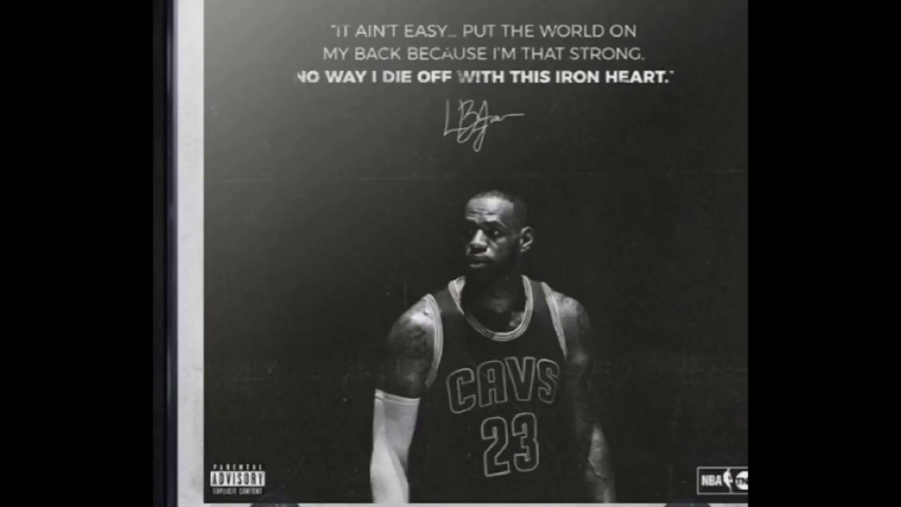 Lebron James Kevin Durant Song It Ain T Easy Kevin Durant Ft Lebron James Youtube