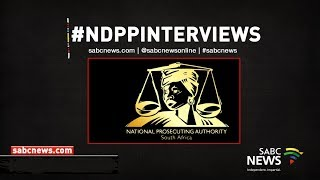 National Director of Public Prosecutions Interviews - Day Three, 16 November 2018 Part 2