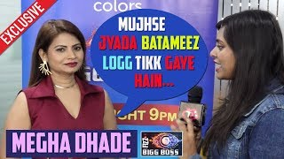 Megha Dhade Eviction Interview:  ROHIT is Playing Very DIRTY GAME, Sreesanth Will Win Bigg Boss 12