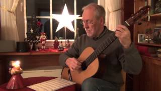 Silver Bells - classical guitar