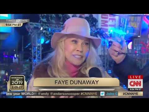 faye dunaway 2019 new years eve