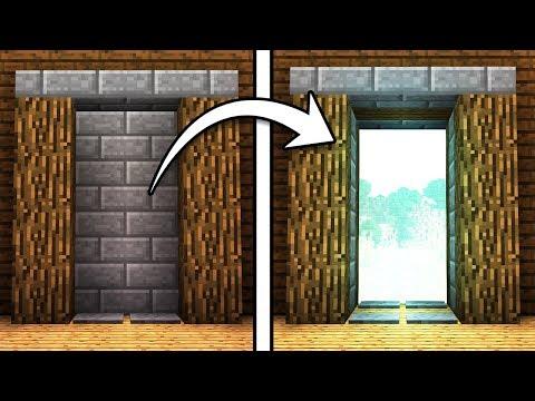 EASY 2x4 Piston Door! - Minecraft Tutorial