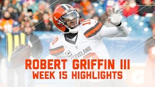 RGIII Can't Overcome the Bills! | NFL Week 15 Player Highlights