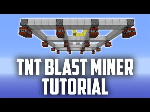 TNT Blast Mining - Infinitely Expandable & Simple Tutorial