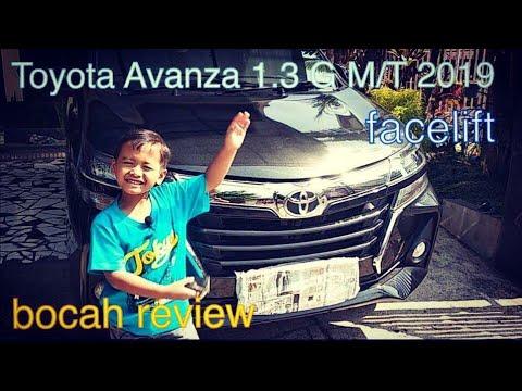 In depth tour Toyota Avanza 1.3G M/T 2019 I bocah review
