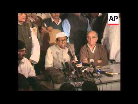 INDIA: PRIME MINISTER INDER KUMAR GUJRAL RESIGNS UPDATE