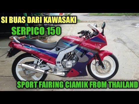 KAWASAKI SERPICO 150 THAILAND