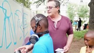 VLB 2018-06 : Réalisation d'une fresque  à la résidence M. de Grais