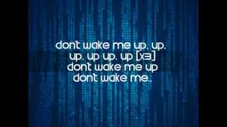 Chris Brown - Don't Wake Me Up Lyric Video