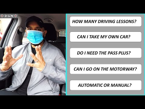 How Many Driving Lessons? Practical Driving Test Answers