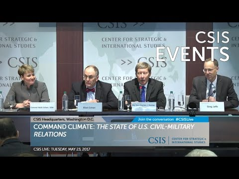 Command Climate: Panel II – The Military and Politics