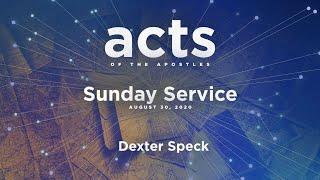 Sunday Service - August 30, 2020