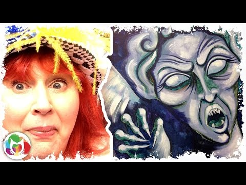 How to paint | Weeping Angel | Doctor Who