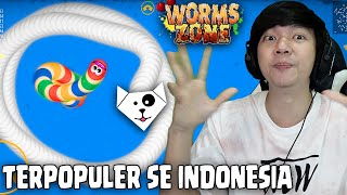 Game Terpopuler Se Indonesia - Worms Zone.io
