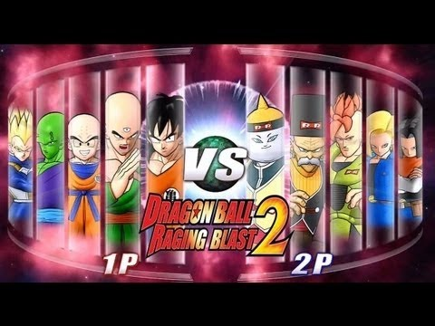 Dragon Ball Z Raging Blast 2   Z Fighters Vs  Androids Live Commentary