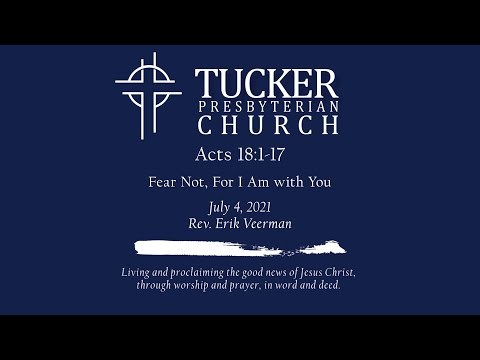 Fear Not, For I Am with You (Acts 18:1-17)