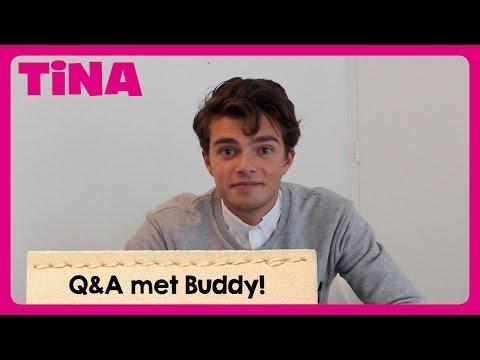 Date BUDDY met MAAN? Of is hij VERLIEFD op ARIANA? | Q&A met BUDDY | Tina