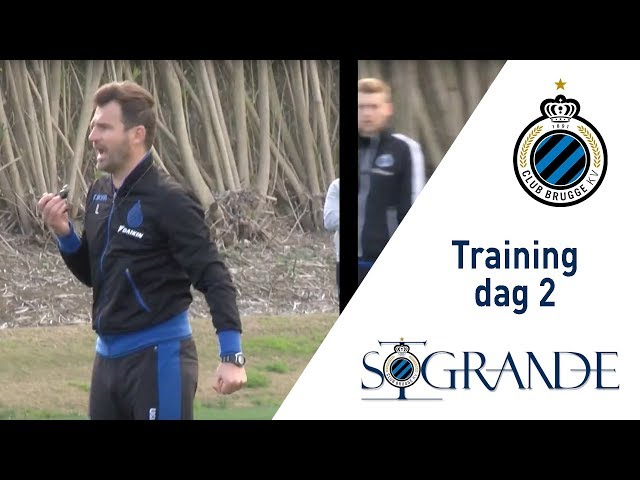 Winterstage 2018 | Training dag 2
