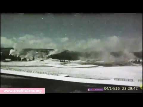 YELLOWSTONE  INCREDIBLE UFO FOOTAGE