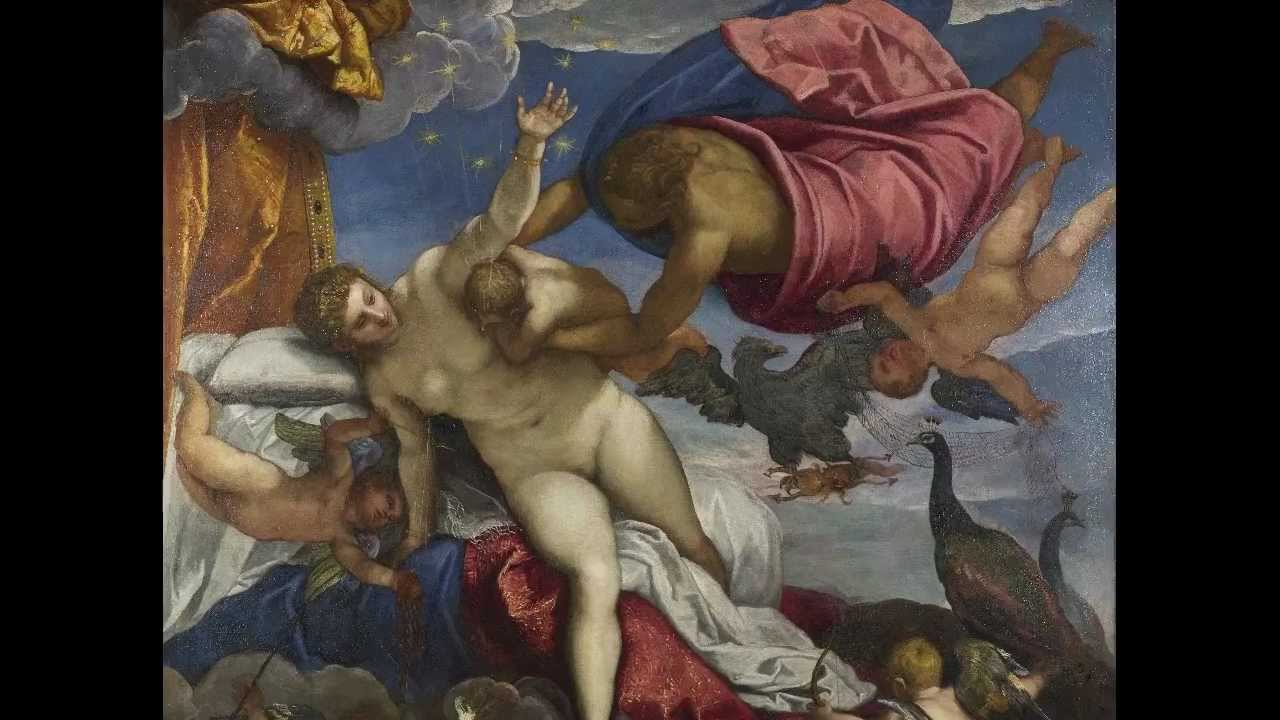 Tintoretto Origin Of The Milky Way