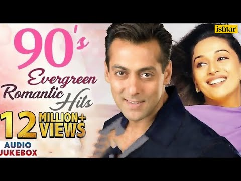 90s Evergreen Romantic Hits  Best Bollywood Hindi Love Songs  JUKEBOX  Popular Songs Collection