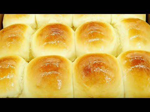 蜂蜜小面包的做法,不干不硬,松软香甜,做法简单[ENG SUB]