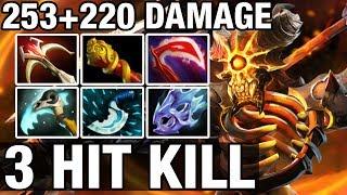 3 HIT KILL - 253+220 DAMAGE - Moo Plays Clinkz - Dota 2