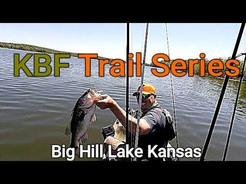 **KBF Trail Series** Big Hill Lake KS Prefishing