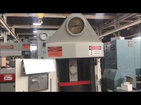 Used 400 Ton M&N Hydraulic Hobbing Press, #26834