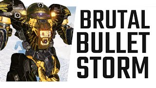 Brutal Bullet Storm- Ultra Autocannon Night Gyr - Mechwarrior Online The Daily Dose #969