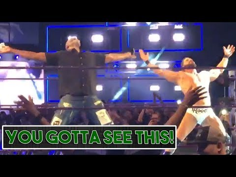 Karl Malone Had a Glorious In-Ring Moment After SmackDown Live (VIDEO)