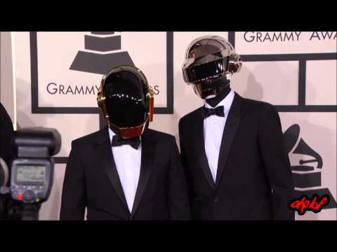 Daft Punk - Live at the Grammys 2014 (Behind the scenes)