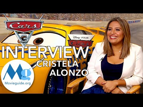 CARS 3 Interview:  CRISTELA ALONZO