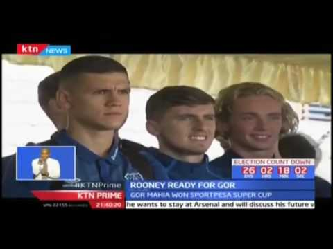 Wayne Rooney leads Everton in Dar es Salaam, Tanzania for their pre-season match