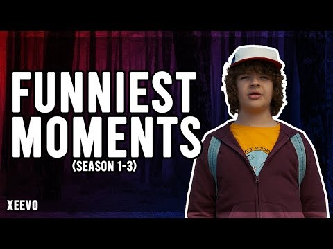 Stranger Things: Dustin Henderson Funniest Moments - HD - Gaten Matarazzo