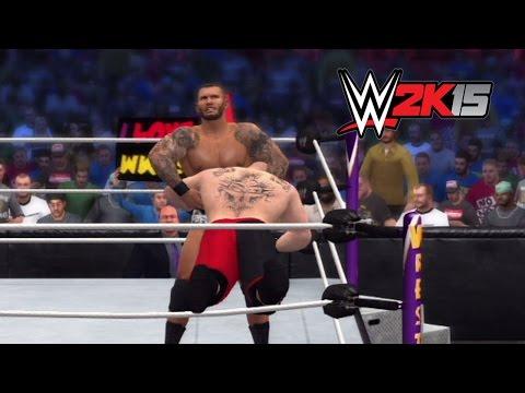 WWE 2K15 Dream Match: Brock Lesnar vs. Randy Orton