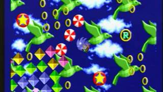 Sonic the Hedgehog - Special Stages - All Chaos Emeralds and Continues