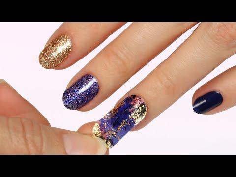 Trying Dashing Diva GLOSS Nail Strips