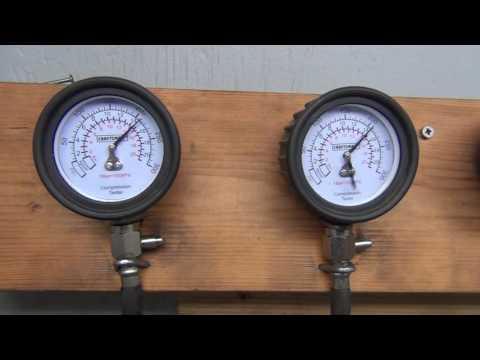 93 GL1500I Left engine bank compression test #371