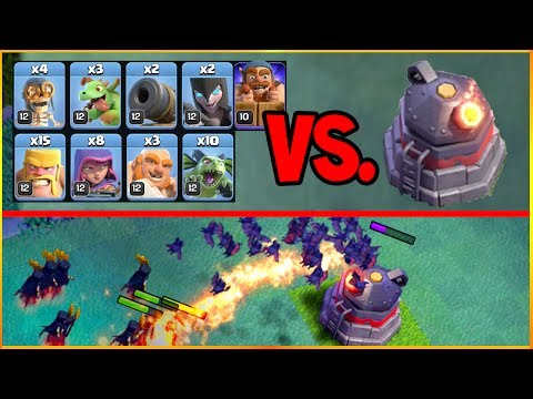 Thumbnail: ROASTER versus Every Troop in the Clash of Clans Builder Hall 6 UPDATE!